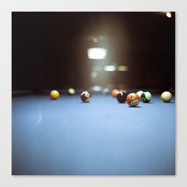 Billard Canvas Print