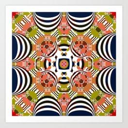 Sunday Samba Art Print
