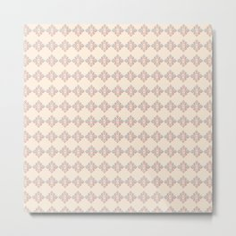 Diamond Pattern Repeating Metal Print