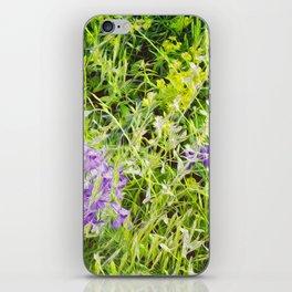 Wild Delphinium Bliss iPhone Skin