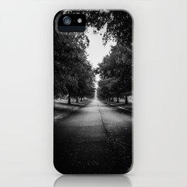 The Lone Walk iPhone Case