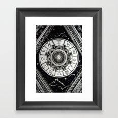 Zodiac Universe Framed Art Print