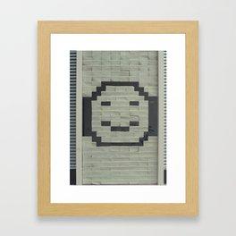 Post it! (your smile) Framed Art Print