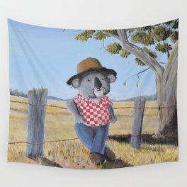 Aussie Koala Wall Tapestry