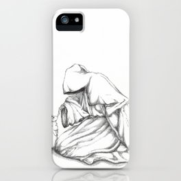 Death and Bunnies I iPhone Case