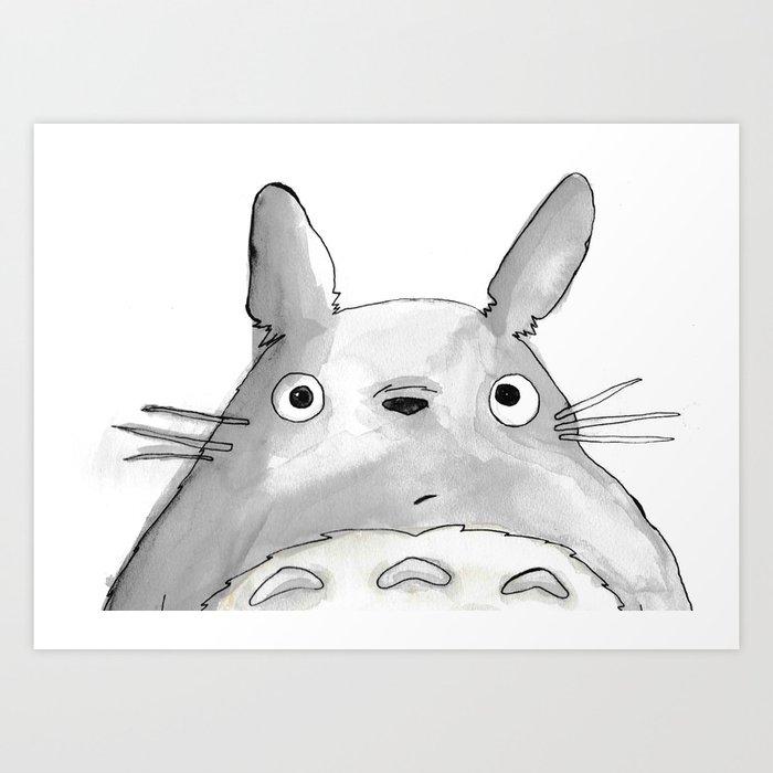 Ghibli Studio Acrylic Painting Art Print