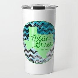 Mean Green Design Travel Mug