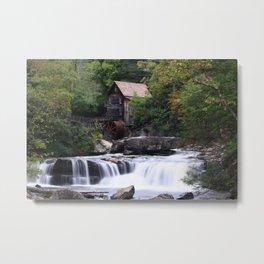 Grist Mill Metal Print