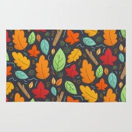 Happy Autumn pattern Rug