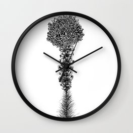 Liatris Wall Clock