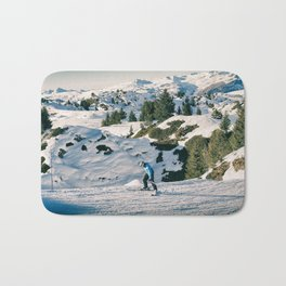 le skieur 7 Bath Mat