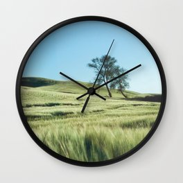 Lone Tree Photography Print Wall Clock