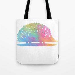 Colorful Hedgehog Tote Bag