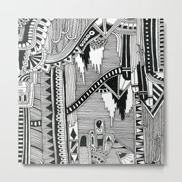 Systematic Chaos 6 Metal Print