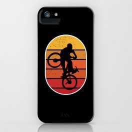 Mountain Bike Freestyle Street MTB iPhone Case
