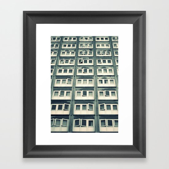 Battery Living Framed Art Print