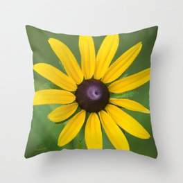 Rudbeckia Flower Throw Pillow