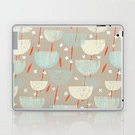 Botanical Block Print M+M Latte by Friztin Laptop & iPad Skin