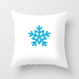 Special Snowflake Gift for Self-Righteous Person  Throw Pillow