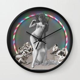 The Hooping Giantess Wall Clock
