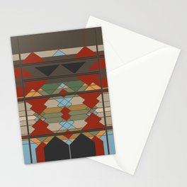 Tribal Southwestern Geo Design Stationery Cards