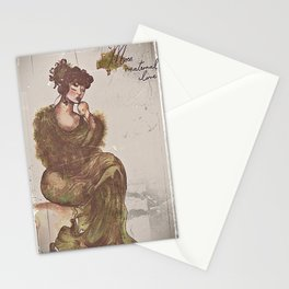 There's Moss, That's For Maternal Love Stationery Cards