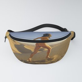 0811 Sandy Dune Nude | The Run Fanny Pack
