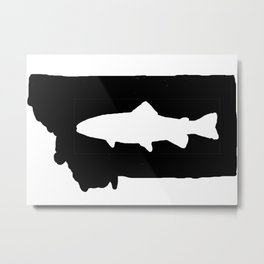 Hyalife Trout Montana  Metal Print