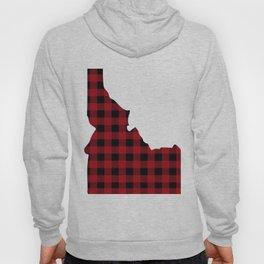 Idaho - Buffalo Plaid Hoody