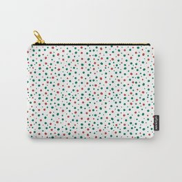 Christmas Polkadot Carry-All Pouch