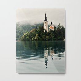 Bled Slovenia Nature Photography Metal Print