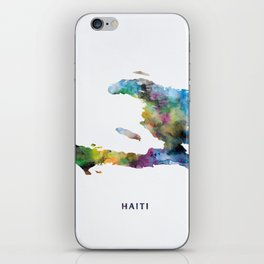 Haiti iPhone Skin