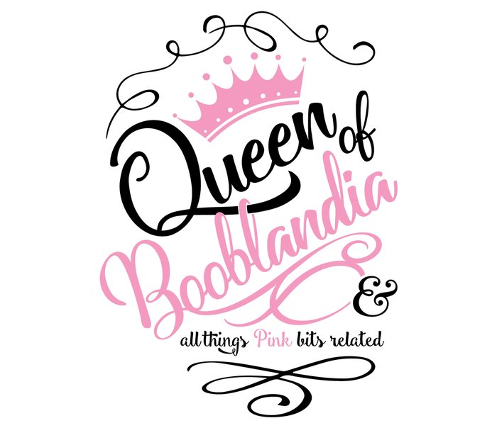 Naughty Queen of Booblandia Metal Travel Mug
