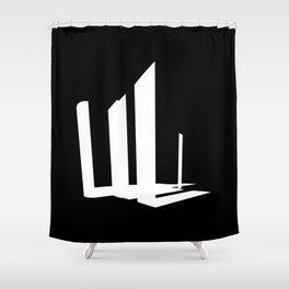 Lava-Lava Shower Curtain