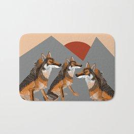 Wolves of the World: Iberian wolf (GREFA) Bath Mat