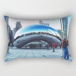 Chicago Bean Rectangular Pillow