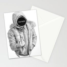 Censored Stationery Cards