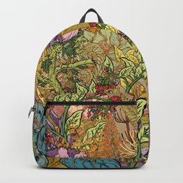 Floral Garden Backpack