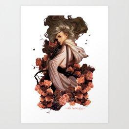 Vhalla Yarl - Air Awakens Art Print