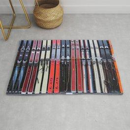 Skis with Bindings Rug