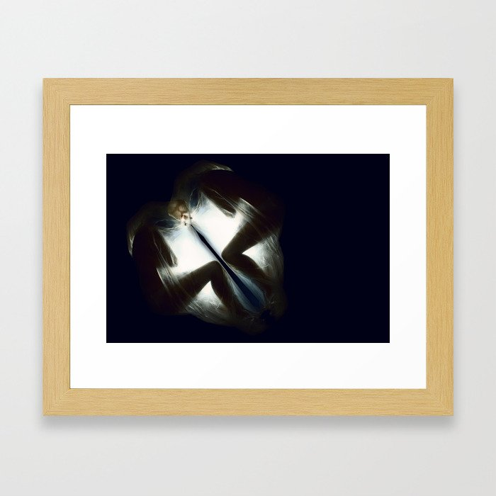 Suspended in Sleep  VACANCY Zine Framed Art Print