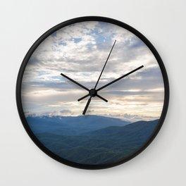 North Georgia Mountains 9 Wall Clock
