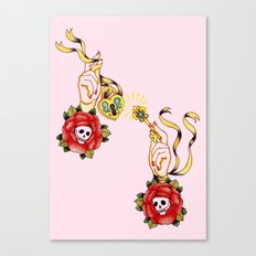 Key To Muh Heart Canvas Print