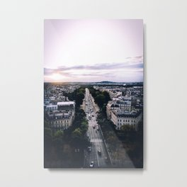 Paris 91 Metal Print