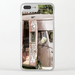 Brown VW Clear iPhone Case