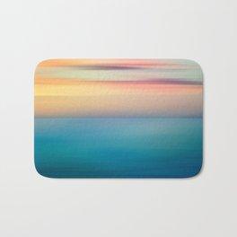 Abstract Seascape Bath Mat