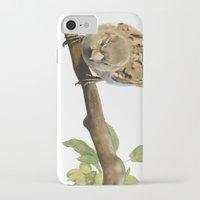 sparrow iPhone & iPod Cases featuring sparrow by Alessandra Razzi Illustrazioni