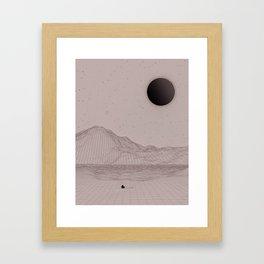 INTROSPECTION Framed Art Print