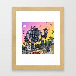 """""""Arkhamfall"""" (Farts 'N' Crafts episode 2) Framed Art Print"""