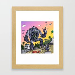 """Arkhamfall"" (Farts 'N' Crafts episode 2) Framed Art Print"